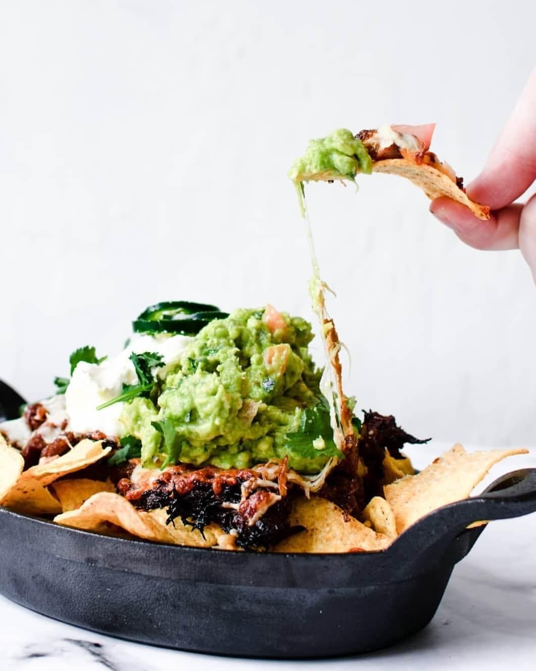 nacho's met pulled pork