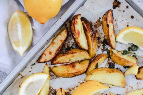 citroen aardappelen uit de oven