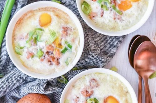 eieren in een potje