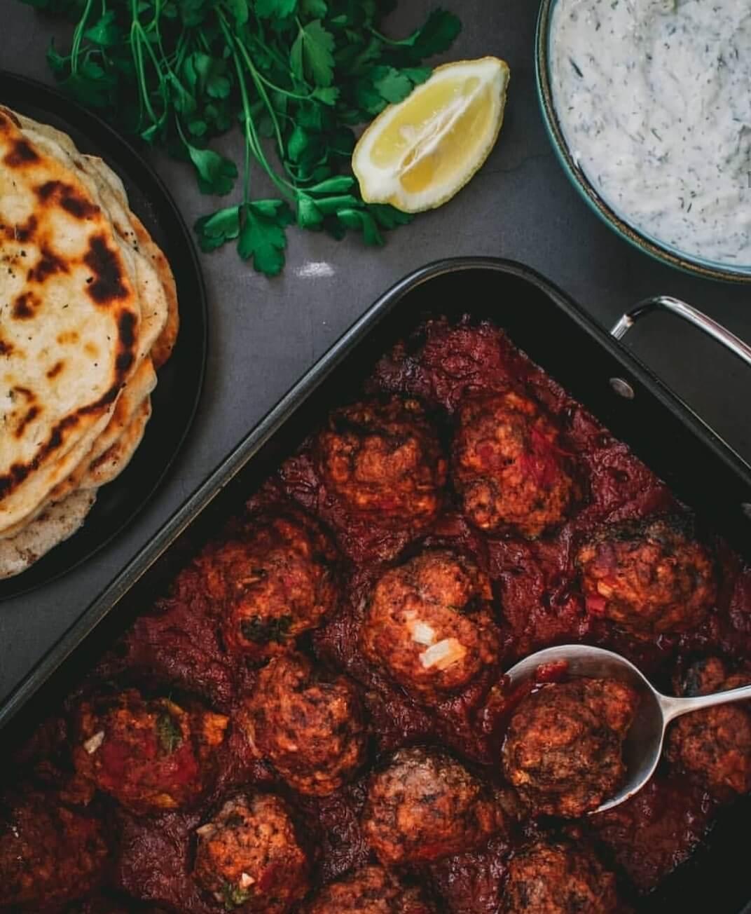 griekse gehaktballen uit de oven