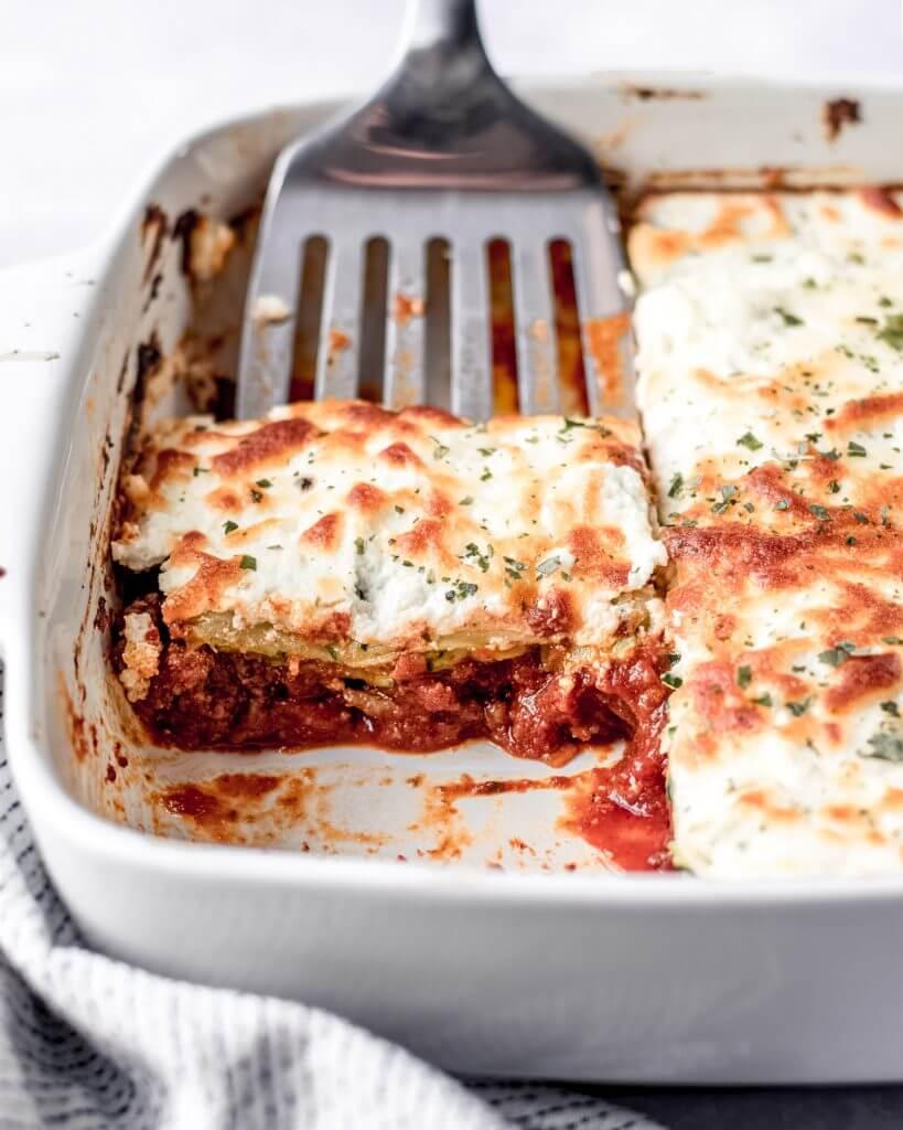 courgette lasagne