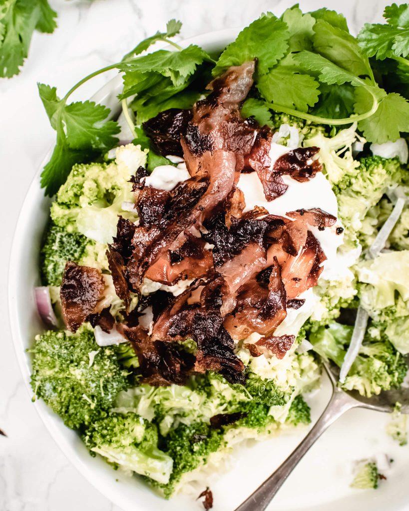 broccoli salade met bacon