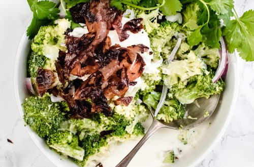 broccoli salade met bacon
