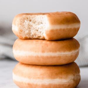 donut foto gemaakt met daglicht