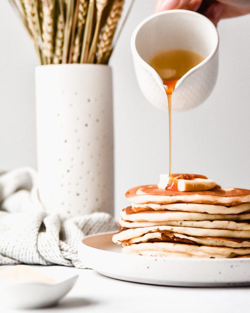 American pancakes met karnemelk
