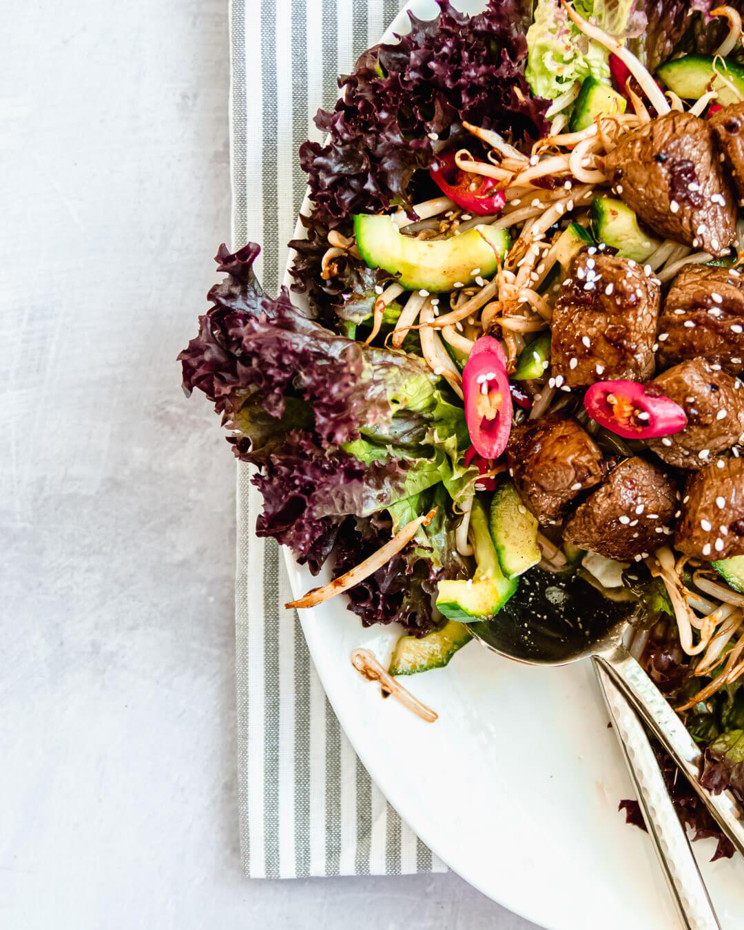 Salade biefstuk