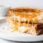 greasy cheesy tosti