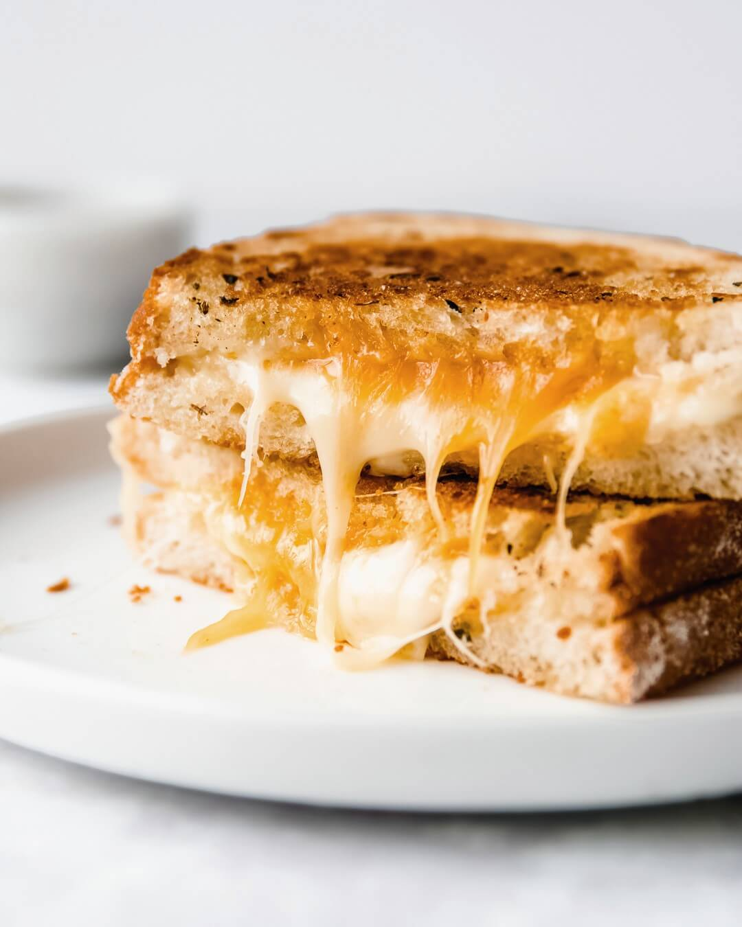 greasy cheesy tosti