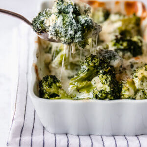 Broccoli gratin