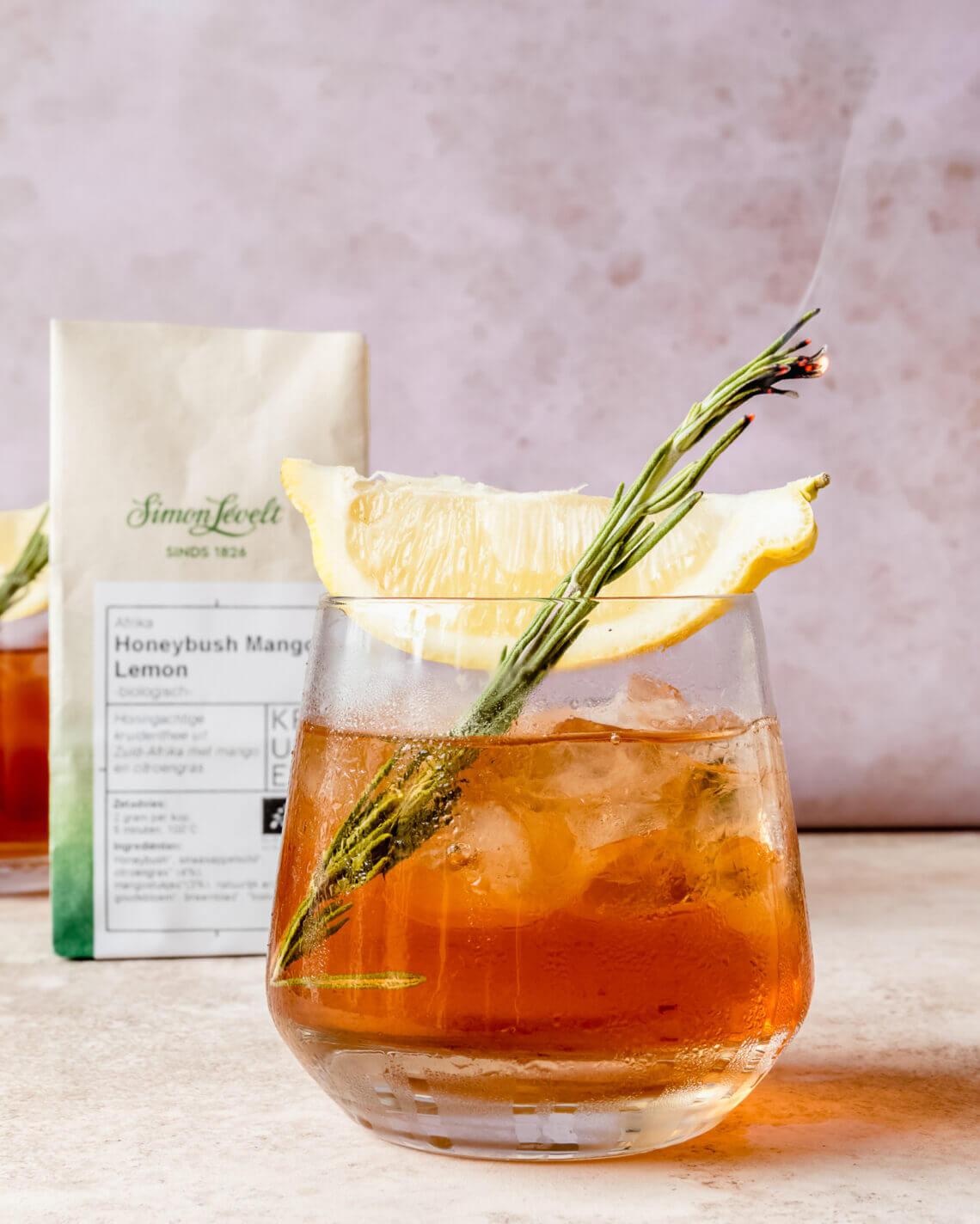 IJsthee met rozemarijn-honing