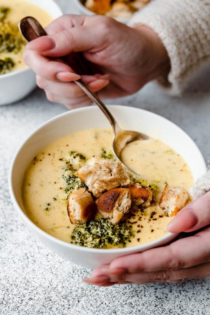 broccoli cheddar soep