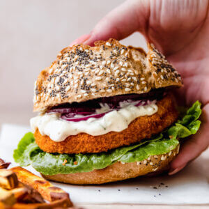 SoFish burger met remouladesaus