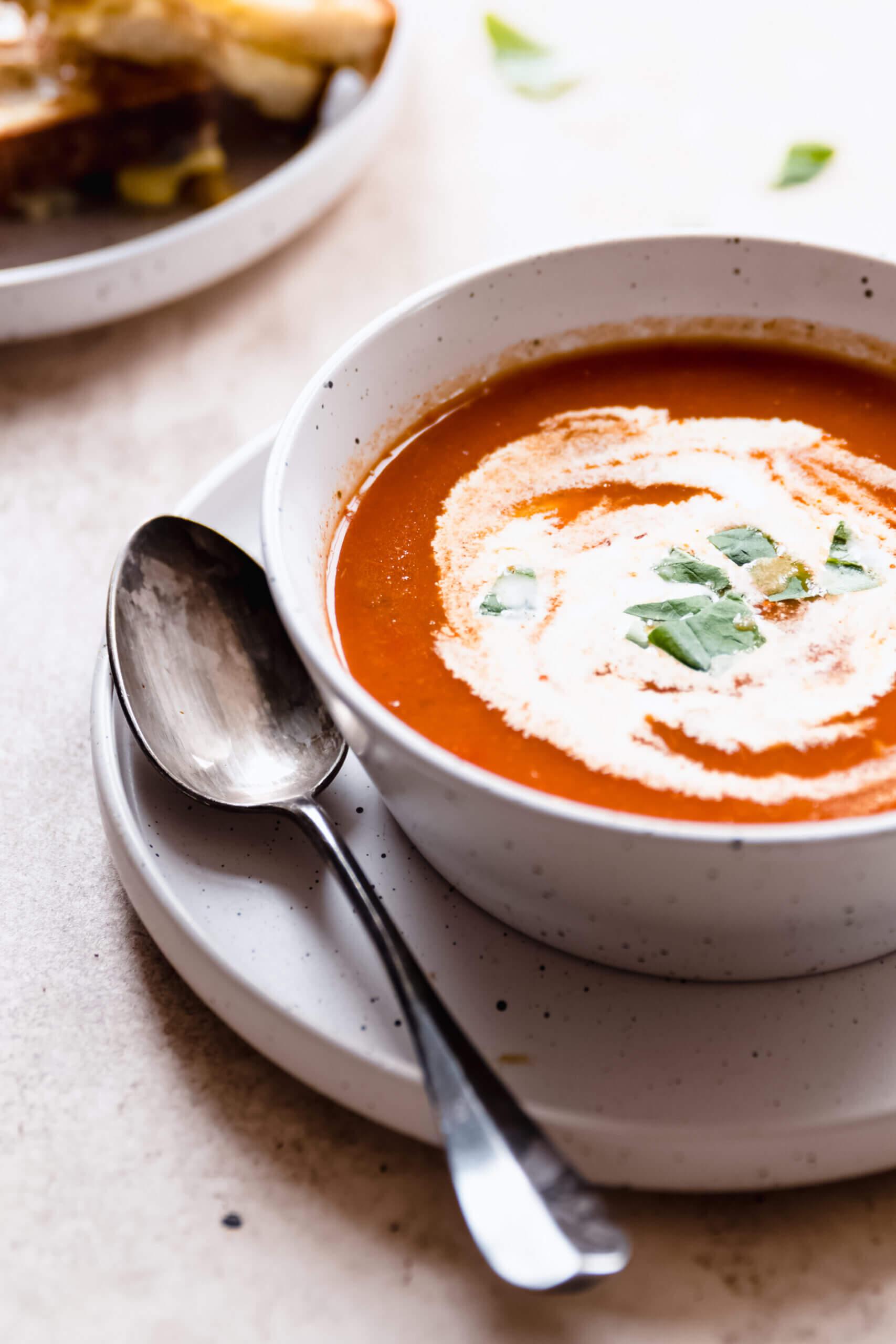 geroosterde tomaten soep