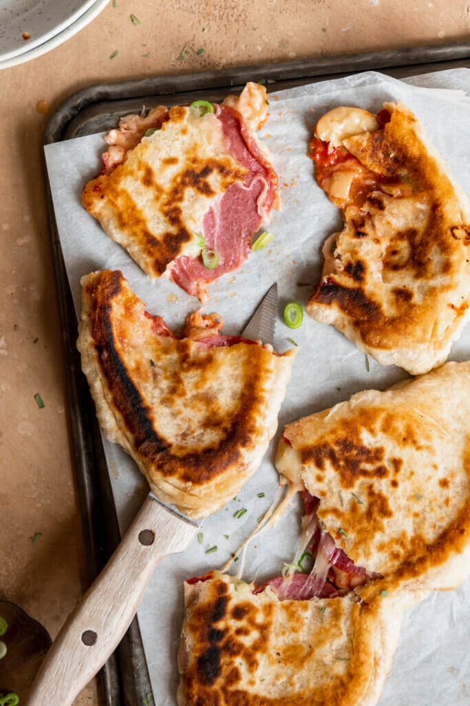 calzone flatbread