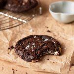 Triple chocolat chip cookies