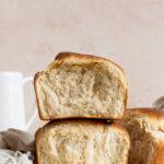 Japans melkbrood gemaakt met een tangzhong