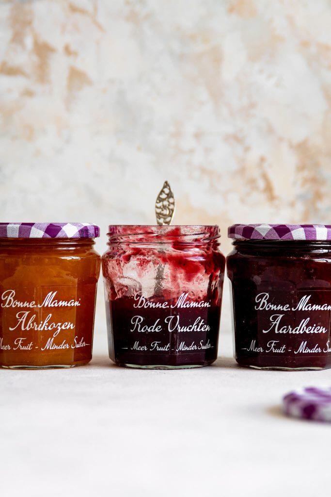 Havermout bars met Meer Fruit Minder Suiker Fruitspread